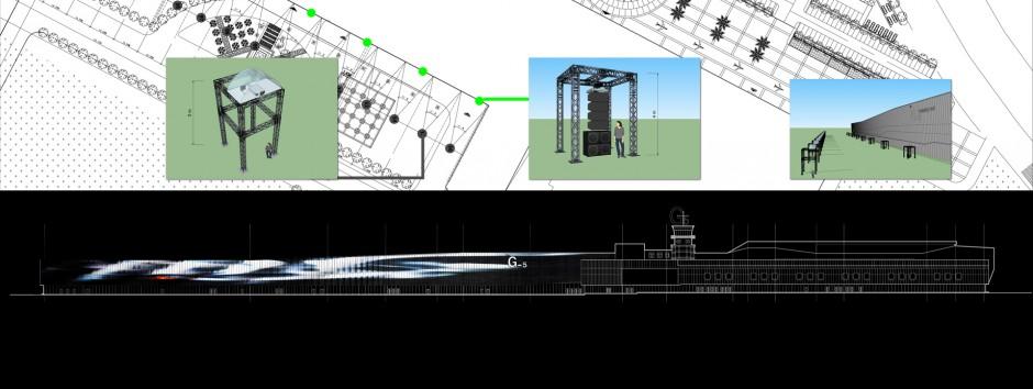 Projet - vidéo mapping monumental