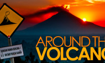 Autour du volcan