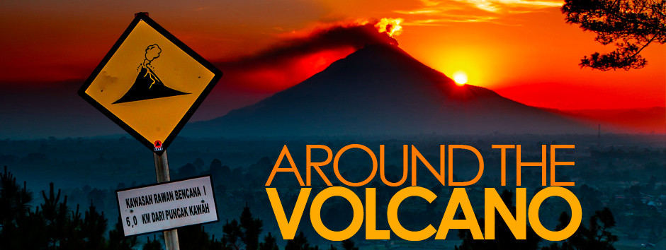 Around the volcano